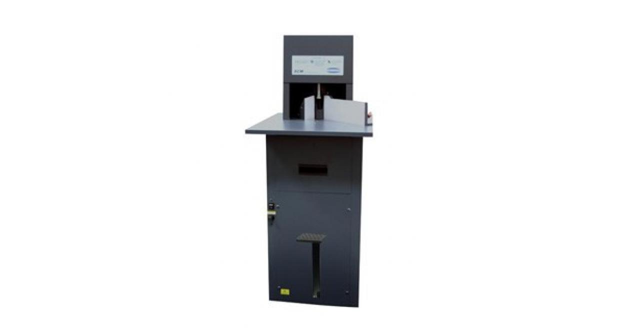 Challenge SCM - manuele rondhoekmachine