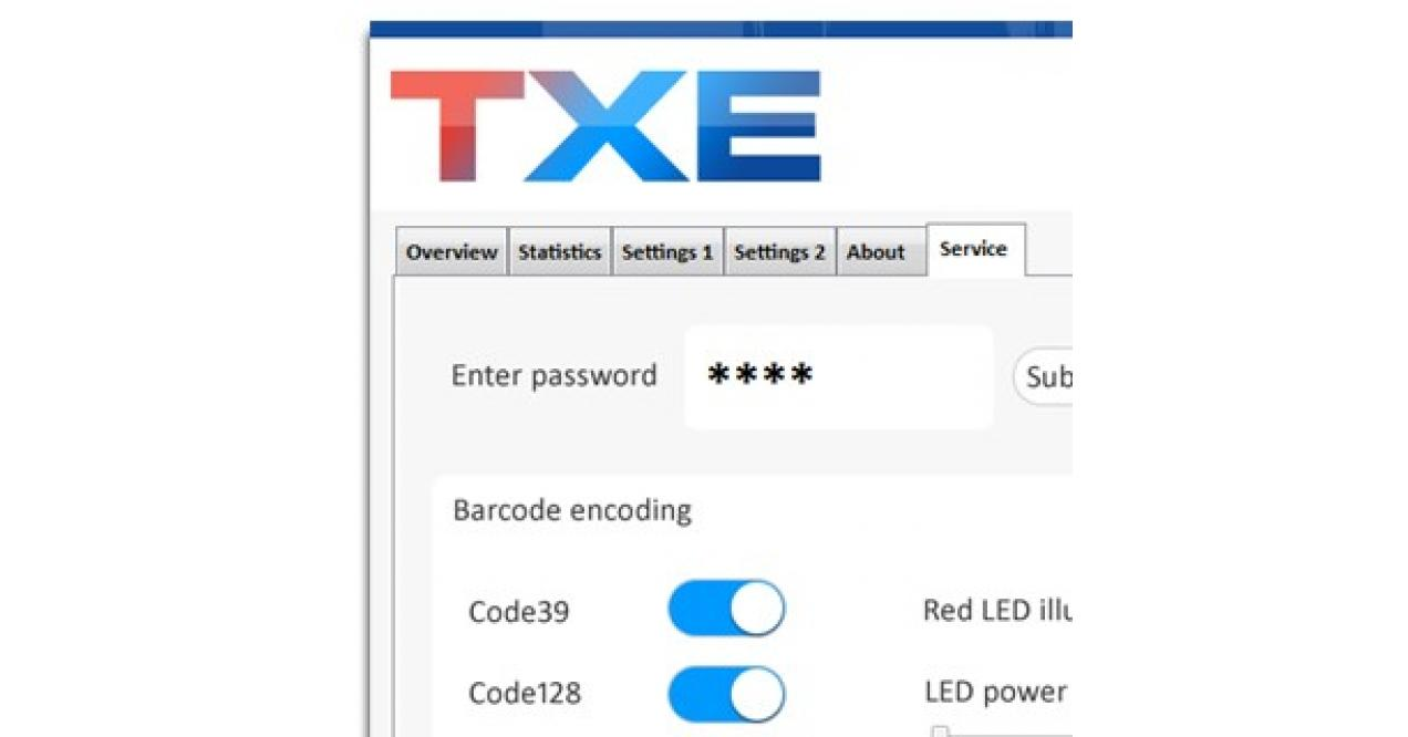 On Demand Automation - TXE Nova barcode-control for Challenge 3-side trimmers