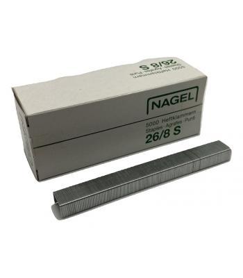 Hechtnieten 26/8 Staal - 8mm - 5000 stuks