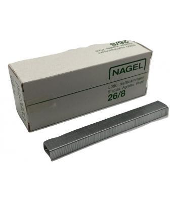 Hechtnieten 26/8 - 8mm - 5000 stuks