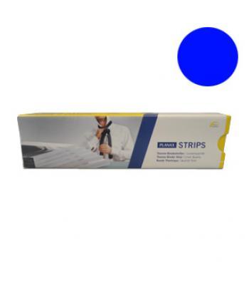 Planax Cobybinder Strips - 20mm - Blauw - 100 stuks
