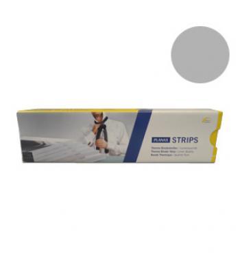 Planax Cobybinder Strips - 20mm - Grijs - 100 stuks